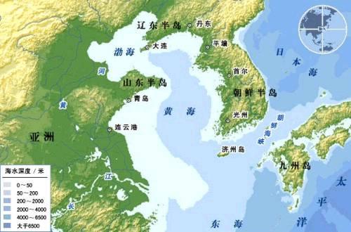 法律专家:中国有权禁止外国军舰在黄海演习