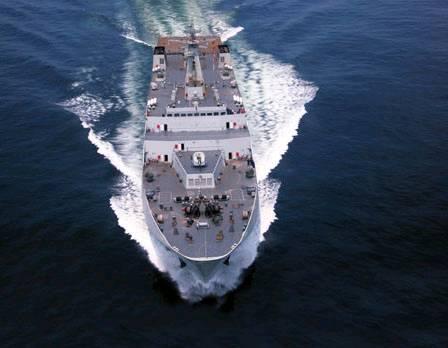 """我国昆仑山号登陆舰实际战力和日韩""""准航母""""基本一样"""