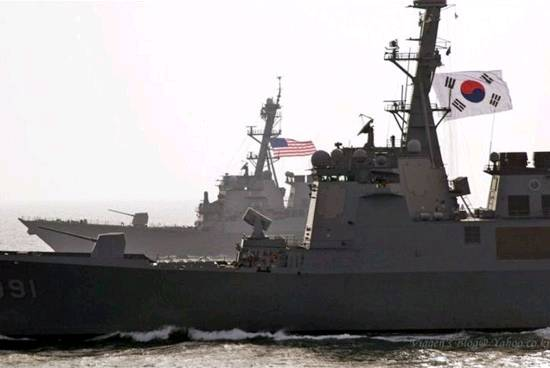 无视中国尊严,不惧擦枪走火:美韩在中国门户海域舞刀弄枪,肆意试探中国容忍底线!