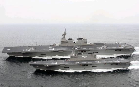 航母吨位远超英国意大利,日本打造亚洲最强大航母舰队意图彻底覆灭中国海军!