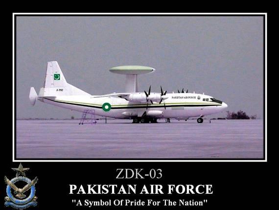 中国明年1月向巴基斯坦交付首架ZDK03预警机