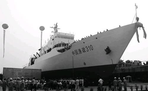 """日本妄猜中国""""渔政310""""船配有""""重武器"""""""