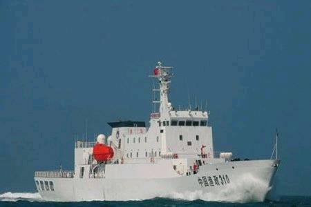 中国渔政310编队二探钓鱼岛 首绕赤尾屿