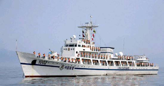 美媒称中国正建造37艘新型海警巡逻船