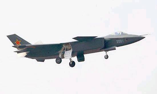 美称中国为J20隐形战机研新型AESA雷达