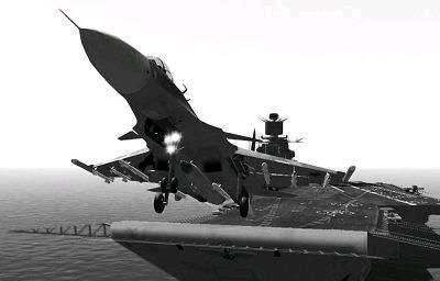 美媒称中国歼-15舰载机已完全准备妥当