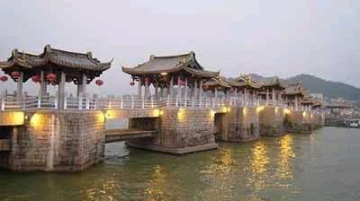 中国评论新闻:中国四大古桥之一:广济桥图片