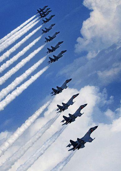 日报告称中国空军实力到2015年将远超日本