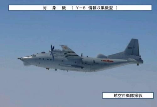日称中国军用飞机逼近日本领空次数急剧增加