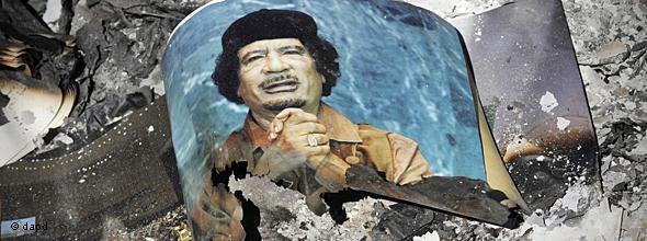 卡扎菲之死与台湾