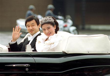 雅子精神病严重 日本皇太子准备离婚