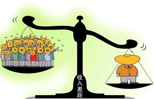 中国基尼系数突破国际警戒线?