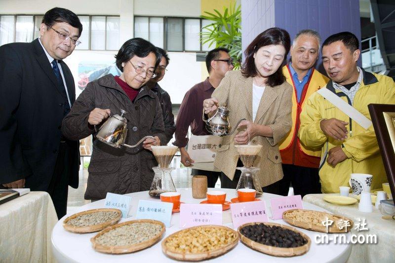 中国评论新闻:云林古坑咖啡招聘苏治芬欢迎来室内设计海口获奖图片