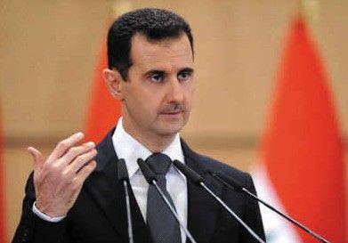 叙利亚总统向朝鲜领导人金正恩发送贺电