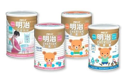 这些因素导致明治奶粉在中国作为日本品牌的认可度